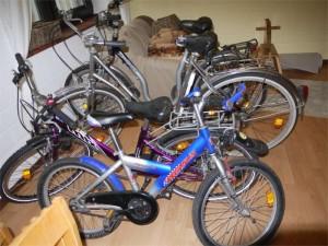 Bild 3 Fahrradwerkstatt